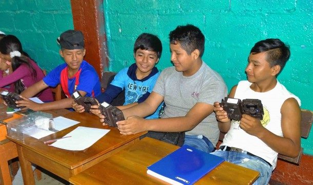 Environmental education in madre de dios, Peru - Photo by ACCA