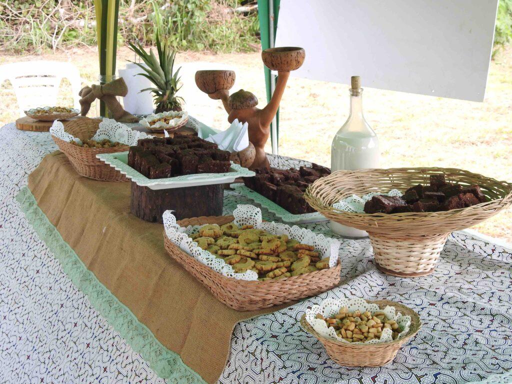 Brazil nut appetizers