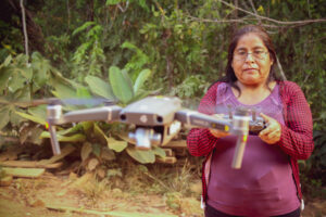 Photo of Marcelina, drone pilot
