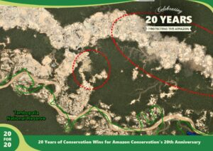 Monitoring of the Andean Amazon Project (MAAP) by Amazon Conservation,part of 20 for 20 Years of Conservation Wins by Amazon Conservation