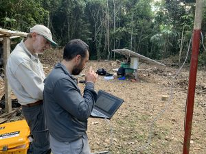 Photo of PUCP researchers at Amazon Conservation's Los Amigos Biological Station